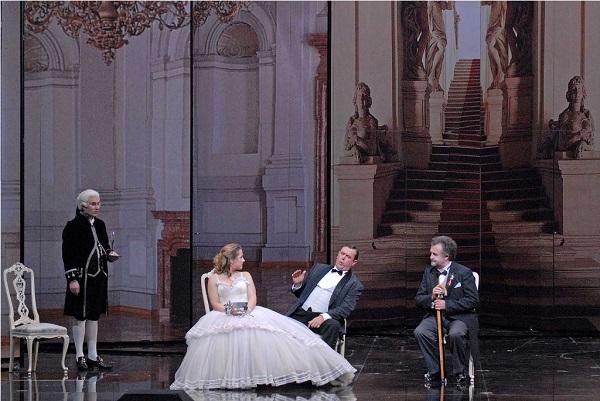 Richard Strauss: Der Rosenkavalier; Generalprobe 22.01.09; Festspielhaus Baden-Baden; Besetzung siehe Probenplan; Festspielhaus-Premiere: 25.01.09